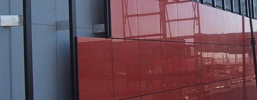 керамогранит, фасад в керамограните